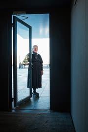 Ein Wunsch Brigitta Schröders: offene Türen für demente Menschen. (Bild: Dominik Wunderli)