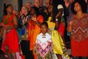Mitreissend war die Präsentation des Hits «We Are The World», der als Zugabe den Kirchenraum erfüllte. (Bild: Roland P. Poschung)