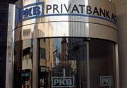 Der Sitz der Privatbank PKP in Lugano. (Bild: Karl Mathis/Keystone (15. Februar 2004))