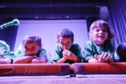 Auch die Kleinen haben ihren grossen Auftritt. (Bild: Donato Caspari)