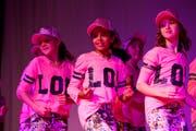 Die Girls haben den Groove im Blut. (Bild: Donato Caspari)