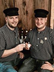 Roland Imhof und Roger Arnold sind die Hudiväter. (Bild: PD)
