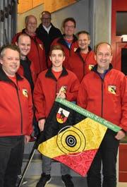 Die Tell-Schützen aus Gams erreichten im A-Final der Ostschweizer Mannschaftsmeisterschaft Platz vier. (Bild: PD)