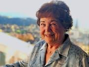 Olga Steiner:«Für meinen Mann Edi war die Tanne der Heiweh-Baum.» (Bild: pd)