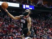 James Harden führte mit seinen 40 Punkten die Houston Rockets zum ersten Heimsieg der Saison (Bild: KEYSTONE/FR171023 AP/ERIC CHRISTIAN SMITH)