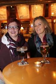 Corinne Dossenbach und Sabine Sahli aus Hemmenhofen. (Bild: Chris Marty)