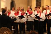 Die Harmonie-Singers aus Wil mit einer starken Performance. (Bild: Christof Lampart)
