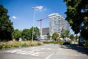 Nächsten August oder September wird im Parterre des Kantonsspitals Frauenfeld eine Apotheke eröffnet. (Bild: Mareycke Frehner)