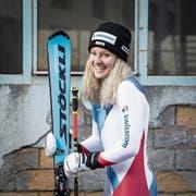 Die Giswilerin Vivianne Härri aus Giswil kann nach Verletzungen wieder lachen. (Bild: Manuela Jans (Engelberg, 9. November 2018)