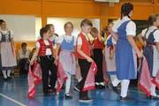 Insgesamt 16 verschiedene Tänze wurden am Kinder- und Jugendtanzsonntag in Wattwil präsentiert. (Bild: Patricia Wichser)