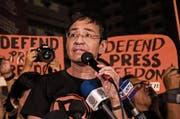 Maria Ressa ist Journalistin und Chefredaktorin von «Rappler». (Bild: Bernice Beltran/NurPhoto (Quezon-Stadt))