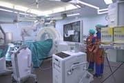 Die neuen Operationssäle sind mit modernster Technik ausgestattet. (Bild: PD)