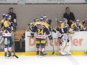 Langenthals Spieler verlassen das Eis doch noch als Sieger. (Archivaufnahme) (Bild: KEYSTONE/MARCEL BIERI)