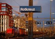 Der Bahnhof Rotkreuz (Bild: Liro Sterki)