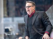Servette-Coach Chris McSorley ist nicht zufrieden. (Bild: KEYSTONE/MARCEL BIERI)