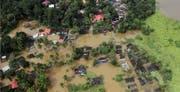 Foto aus dem Krisengebiet in Kerala, Südindien. (Bild: Flüchtlingsdienst der Jesuiten)