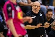 Urs Mühlethaler ist nicht mehr Trainer der Spono Eagles. (Bild: Philipp Schmidli (Nottwil, 23. April 2017))