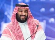 Der saudische Kronprinz Mohammed bin Salman. (Bild: EPA (Riad, 24. Oktober 2018)