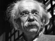 Ein Brief des Physikers Albert Einstein an seine Schwester Maja ist in Jerusalem für über 28'000 Euro versteigert worden. (Bild: KEYSTONE/AP)