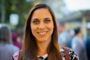 Karin Weigelt strebt nach ihrer Sportlerkarriere eine politische Laufbahn an. (Bild: Benjamin Manser)