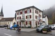 Der Fischinger Gemeinderat will das zweite Obergeschoss im Gemeindehaus umbauen. (Bild: Roman Scherrer)
