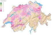 Schweizweit gehören Vögel des Kulturlands zu den grossen Verlierern: Die Vogelarten der «Umweltziele Landwirtschaft» haben in den letzten 20 Jahren weiterhin abgenommen. (Bild: Schweizerische Vogelwarte Sempach)