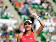 Verabschiedet sich mit 29 Jahren von der grossen Tennis-Bühne: Agnieszka Radwanska (Bild: KEYSTONE/EPA/KIYOSHI OTA)