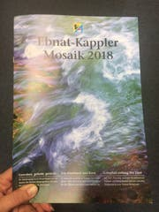 Titelbild des Ebnat-Kappler Mosaiks 2018. (Bild: Sabine Schmid)