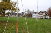Die Überbauung liegt nahe des Niederuzwils Zentrum. (Bild: Philipp Stutz)