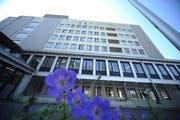 Das Kantonsspital hat ab 2024 keine eigene Wäscherei mehr. (Bild: Urs Hanhart, Altdorf 2017)