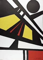 Eine Lithografie von Alexander Calder gehörte ebenfalls zur Kunstmappe. (Bild: PD)