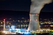 Eines von fünf Atomkraftwerken in der Schweiz: das Kernkraftwerk Leibstadt. (Bild: Alessandro della Bella / Keystone, 28. Mai 2011).
