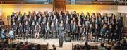 Während rund dreier Monate probte der Projektchor Gospel im Werdenberg. (Bild: PD)