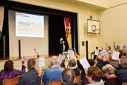 Das Budget 2019 war an der Tobler Gemeindeversammlung nicht umstritten. (Bild: Roman Scherrer)