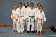 Für die Judokas vom Judoklub Buchs hat sich der Ausflug nach Bregenz gelohnt. (Bild: PD)