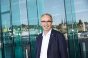 Der Luzerner Stadtpräsident Beat Züsli wünscht den Veranstaltern viel Erfolg. (Bild: Dany Schulthess)