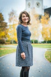 Die Neue stellvertretende Pfarrerin Elisabeth Wickihalder stellt sich vor. (Bild: Andrea Stalder)