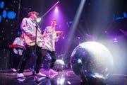 Die Band Hecht an den Swiss Music Awards dieses Jahres im Zürcher Hallenstadion (Bild: KEYSTONE/Ennio Leanza, 9. Februar 2018).