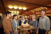 Der Pfarreirat Kerns löst sich auf (von links): Gabi Steiner, Regula Bucher, Ursi Windlin, Agnes Hurschler und Theodor Durrer. (Bild: Marion Wannemacher (Kerns, 14. November 2018))