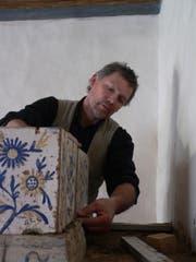 Mischa Casanova bei der Arbeit. (Bild: PD)