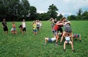 Kinder und Jugendliche zieht's wieder vermehrt in die Natur. Im Bild die Pfadi Inwil in der Chamau. (Bild: Stefan Kaiser (Hünenberg, 18. Juli 2017))