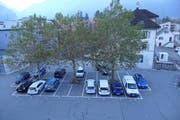 Die Gemeinde Altdorf investiert in die neue Tiefgarage unter dem Gemeindehausparkplatz 2,75 Millionen Franken. (Bild: Markus Zwyssig, 19. Oktober 2018)