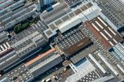 Luftaufnahme der Firma Bühler in Uzwil: Die Schweiz verliere ihren Status als verlässlicher Partner bei einer Annahme der SBI, sagen Ostschweizer Unternehmer. (Bild: Reto Martin)