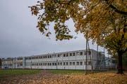 Das Schul-Provisorium Höfli. (Bild: Pius Amrein (Ebikon, 29. Oktober 2018))