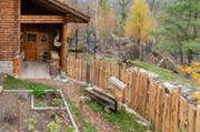 Vorgarten bei der neuen Fuchsanlage im Natur- und Tierpark Goldau. (Bild: PD)