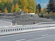 Den vorübergehend als Installationsfläche genutzten Boden bei den Autobahnknoten St.Margrethen (Bild) und Buriet bekommt die Natur zurück. (Bild: Kurt Latzer)