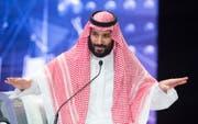 Der saudische Kronprinz Mohammed bin Salman wird verdächtigt, die Ermordung des Journalisten Jamal Khashoggi in Auftrag gegeben zu haben. (Bild: EPA/SAUDI ROYAL PALACE (Riad, 24. Oktober 2018))