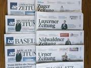 Die Zusammenführung von NZZ-Regionalmedien und AZ-Medien veranlasste die Regierung zu einer Analyse der St.Galler Medienlandschaft. (Bild: Keystone/Christian Beutler)