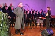 «Voce Sonante» gab sowohl Soli und Chorinterpretationen zum Besten. (Bild: Christof Lampart)