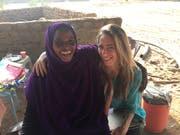 Birgit Pestalozzi im Sudan.